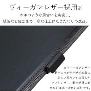 ソフトレザーカバー(360度回転) ブラック iPad Pro 12.9インチ【10月下旬】_3
