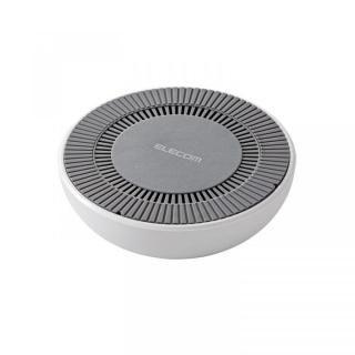 冷却ファン搭載Qi規格対応ワイヤレス充電器 最大出力10W ホワイト