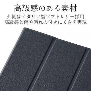 イタリアンソフトレザーカバー ブルー iPad Pro 10.5インチ【10月下旬】_2