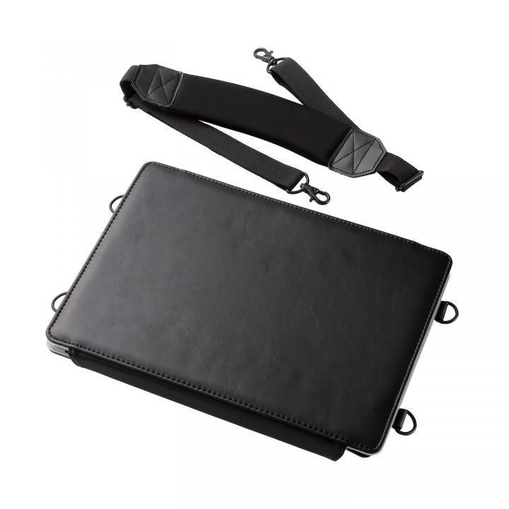 両手が自由に使えるソフトレザーケース(画板タイプ) ブラック iPad Pro 12.9インチ_0