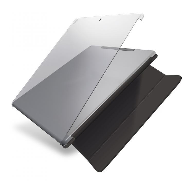 シェルカバー(スマートカバー対応)  クリア iPad Pro 12.9インチ_0