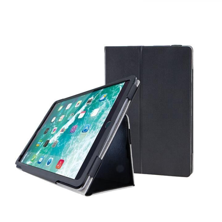 ソフトレザーカバー(2アングル) ブラック iPad Pro 12.9インチ【10月下旬】_0