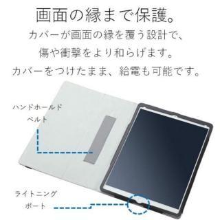 ソフトレザーカバー(2アングル) ブラック iPad Pro 12.9インチ【10月下旬】_2