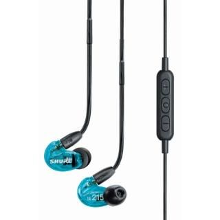 SHURE SE215 Special Edition WIRELESS 高遮音性イヤホン トランスルーセントブルー