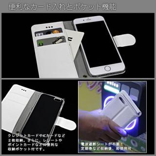【iPhone6ケース】kuboq 合皮手帳型ケース ツートーン  ピンク/ホワイト iPhone 6ケース_3