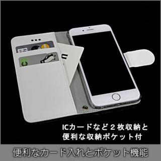 【iPhone6ケース】kuboq 合皮手帳型ケース ツートーン  ピンク/ホワイト iPhone 6ケース_4
