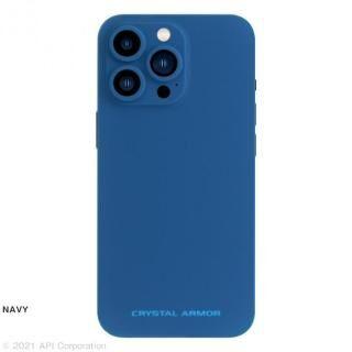 iPhone 13 Pro Max (6.7インチ) ケース CRYSTAL ARMOR Ultra Light 360 NAVY iPhone 13 Pro Max【12月中旬】