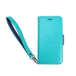 【iPhone XS/Xケース】Corallo NU 手帳型ケース ブルー+ネイビー iPhone XS/X