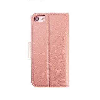 【iPhone8/7/6s/6ケース】Corallo NU 手帳型ケース シャンパンローズ+ホワイト iPhone 8/7/6s/6_1
