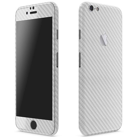 iPhone6 ケース カーボン調 プレミアムスキンシール シルバー iPhone 6 スキンシール_0