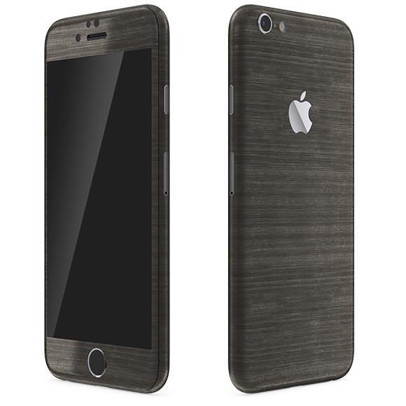iPhone6 ケース メタル調 プレミアムスキンシール ブラッシュドダークチタン iPhone 6 スキンシール_0