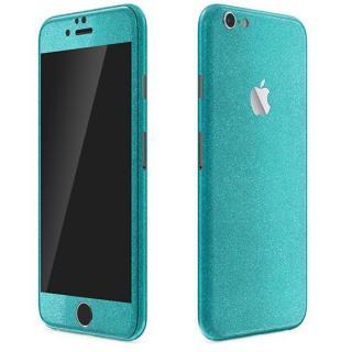 iPhone6 ケース ラメ入り プレミアムスキンシール グリッターブルー iPhone 6 スキンシール