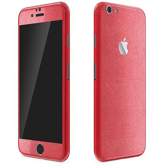 iPhone6 ケース ラメ入り プレミアムスキンシール グリッターレッド iPhone 6 スキンシール_0