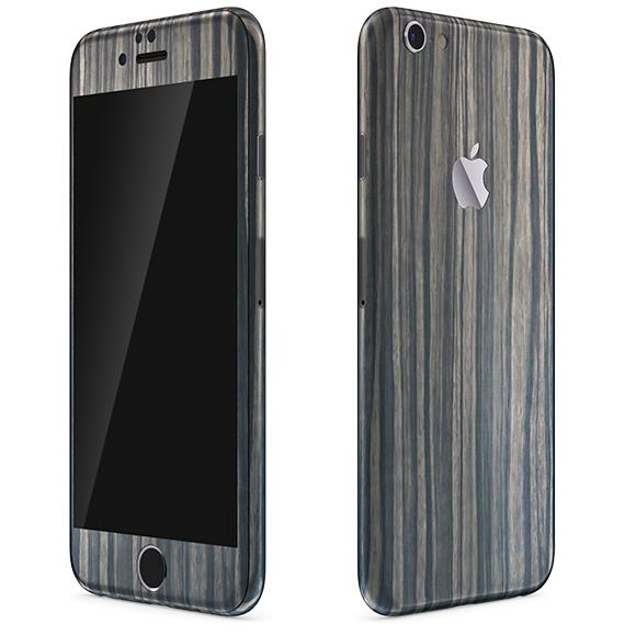 iPhone6 Plus ケース ウッド調 プレミアムスキンシール ダークエボニー iPhone 6 Plusスキンシール_0