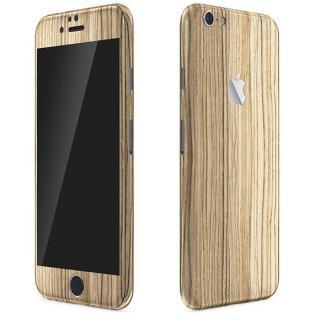 ウッド調 プレミアムスキンシール ゼブラ iPhone 6 Plusスキンシール