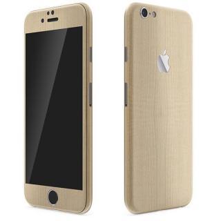 ウッド調 プレミアムスキンシール メープル iPhone 6 Plusスキンシール