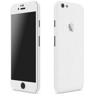 レザー調 プレミアムスキンシール アリゲーターホワイト iPhone 6 Plusスキンシール