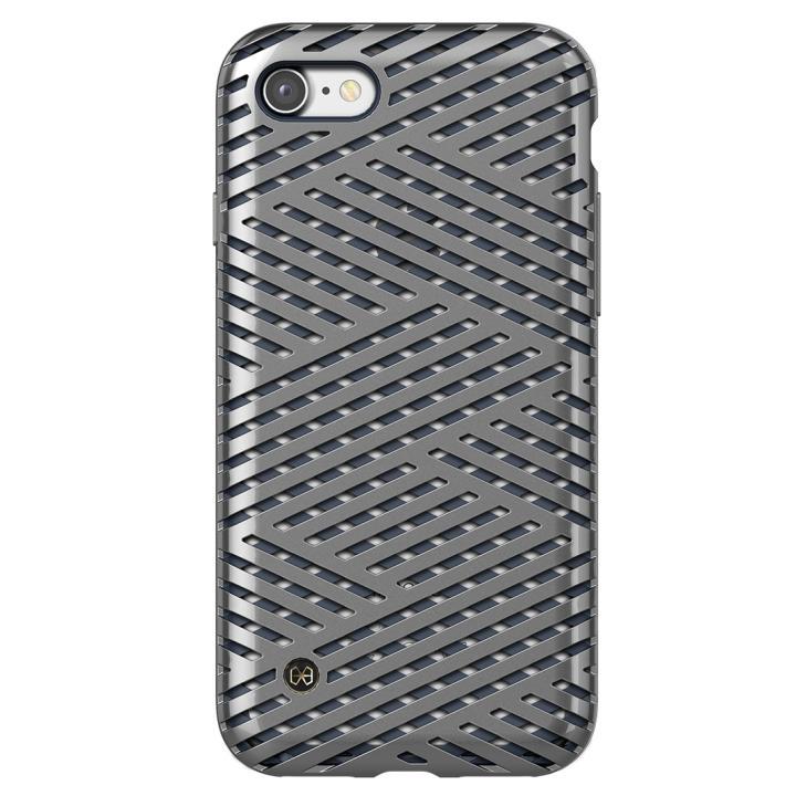 [新iPhone記念特価]KAISERⅡメッシュケース マイクロチタン iPhone 7