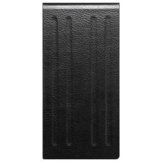 液晶割れ防止 ハードレザーケース 縦開きタイプ ミライセル ブラック iPhone 7