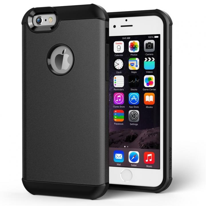 【iPhone6s/6ケース】Anker 耐衝撃保護ケース ToughShell  ブラック iPhone 6s/6ケース_0