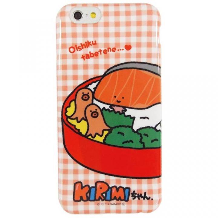 KIRIMIちゃん ソフトケース おべんとう iPhone 6ケース