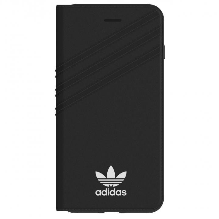iPhone8 Plus/7 Plus ケース adidas Originals 手帳型ケース ブラック/ホワイト iPhone 8 Plus/7 Plus/6s Plus/6 Plus_0