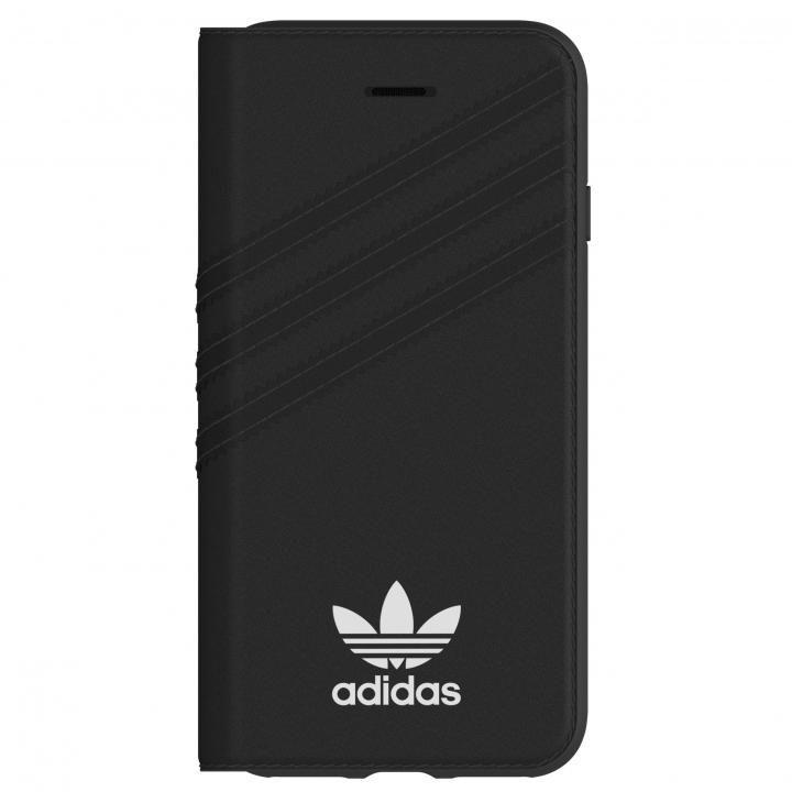 adidas Originals 手帳型ケース ブラック/ホワイト iPhone 8/7/6s/6