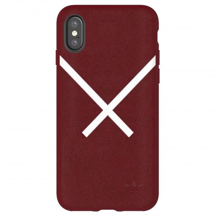 iPhone XS/X ケース adidas Originals XBYO ケース Collegiate バーガンディ iPhone XS/X_0