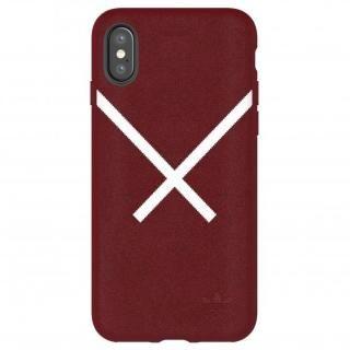 iPhone XS/X ケース adidas Originals XBYO ケース Collegiate バーガンディ iPhone XS/X