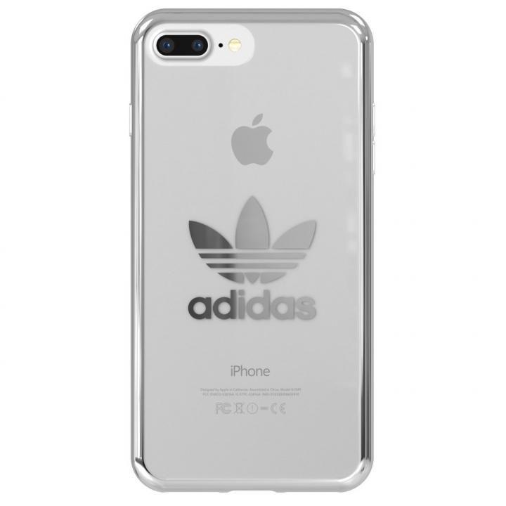 iPhone8 Plus/7 Plus ケース adidas Originals クリアケース シルバー ロゴ iPhone 8 Plus/7 Plus_0