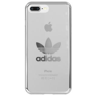 adidas Originals クリアケース シルバー ロゴ iPhone 8 Plus/7 Plus