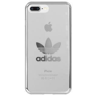 【iPhone8 Plus/7 Plusケース】adidas Originals クリアケース シルバー ロゴ iPhone 8 Plus/7 Plus
