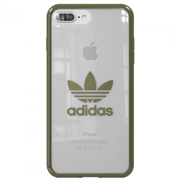 【iPhone8 Plus/7 Plusケース】adidas Originals クリアケース Military Green logo iPhone 8 Plus/7 Plus_0