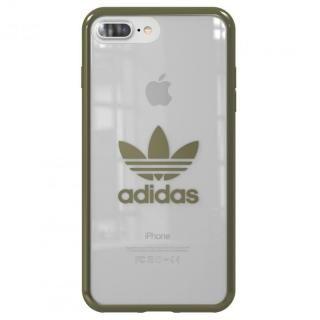 adidas Originals クリアケース Military Green logo iPhone 8 Plus/7 Plus
