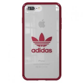 adidas Originals クリアケース Burgundy logo iPhone 8 Plus/7 Plus