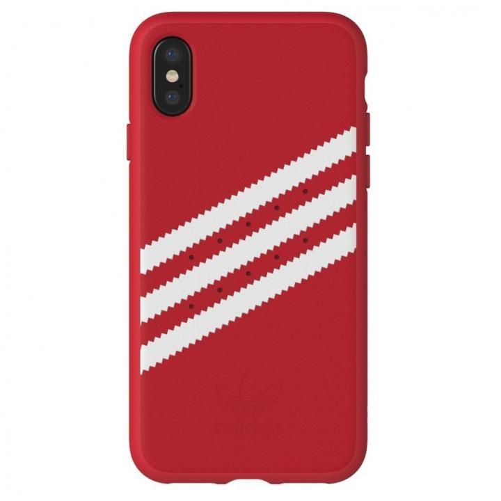 iPhone XS/X ケース adidas Originals ケース ロイヤルレッド/ホワイト iPhone XS/X_0