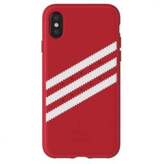 adidas Originals ケース ロイヤルレッド/ホワイト iPhone X