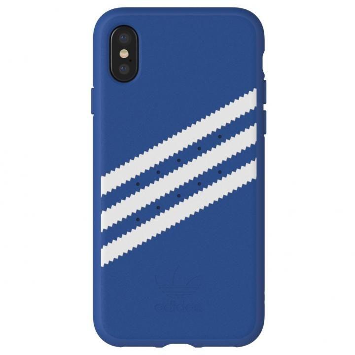 【iPhone XS/Xケース】adidas Originals ケース Collegiate ロイヤル/ホワイト iPhone XS/X【11月下旬】_0