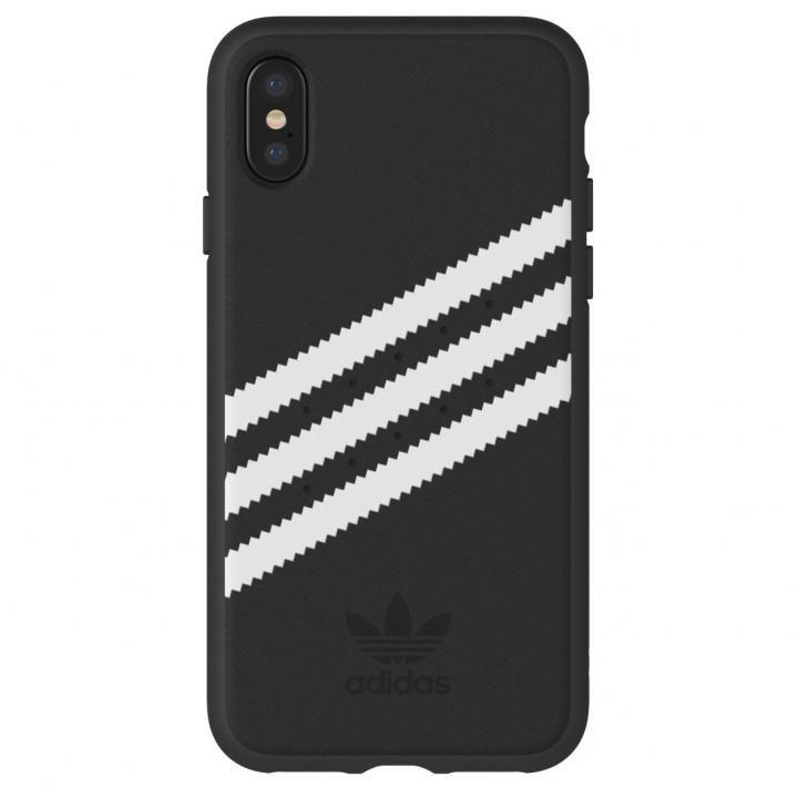 【iPhone XS/Xケース】adidas Originals ケース ブラック/ホワイト iPhone XS/X_0