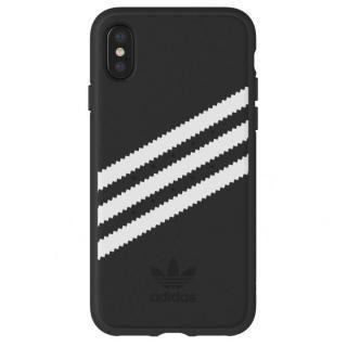 iPhone XS/X ケース adidas Originals ケース ブラック/ホワイト iPhone XS/X【6月下旬】
