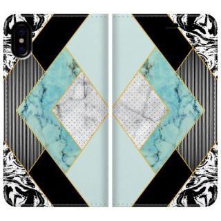 手帳型ケース modern marble 1 iPhone X