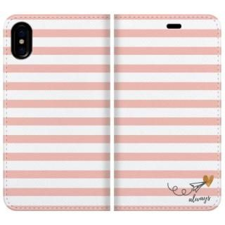 手帳型ケース always 1 iPhone X