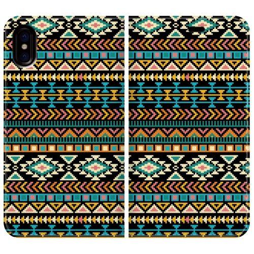 iPhone X ケース 手帳型ケース Native American iPhone X_0