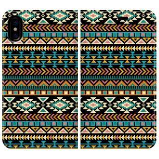 手帳型ケース Native American iPhone X【10月下旬】