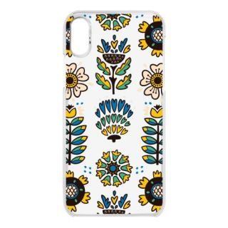 クリアケース nordic flower iPhone X