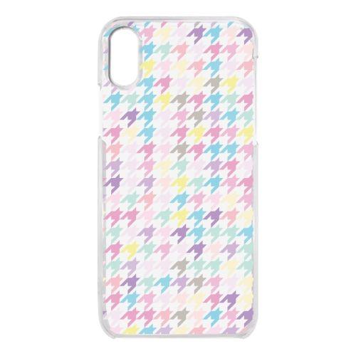 【iPhone Xケース】クリアケース Zigzag pattern iPhone X_0