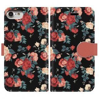 手帳型ケース flower garden iPhone 8/7
