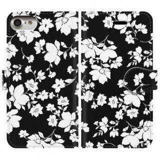 手帳型ケース seamless flower iPhone 8/7