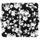 手帳型ケース seamless flower iPhone 8/7