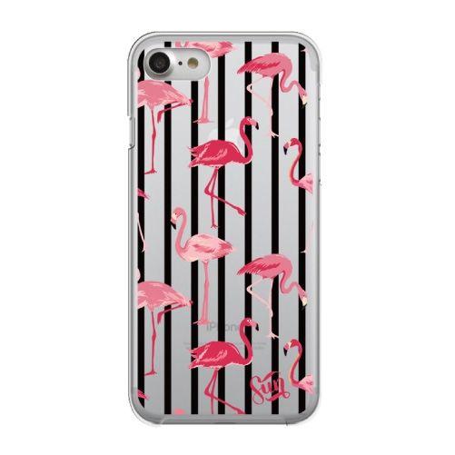 【iPhone8/7ケース】クリアケース flamingo iPhone 8/7_0